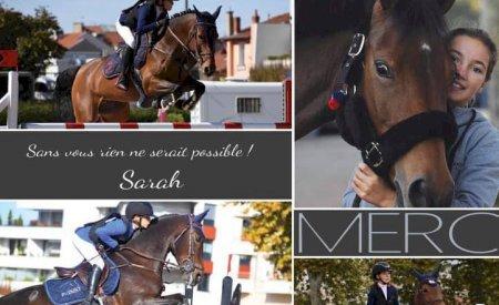 Sponsors de Sarah Desmoules